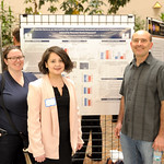 L-R: Gillian Hamilton (postdoctoral fellow, Rhodes Lab), Ivy Hernandez Delgado, Associate Professor Justin Rhodes