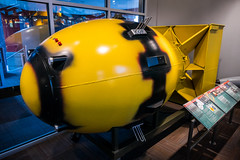 Replica of the Fat Man Bomb (Serendigity) Tags: science usa japan war bomb fatman atomicbomb bradbury nagasaki newmexico unitedstates display museum wwii losalamos