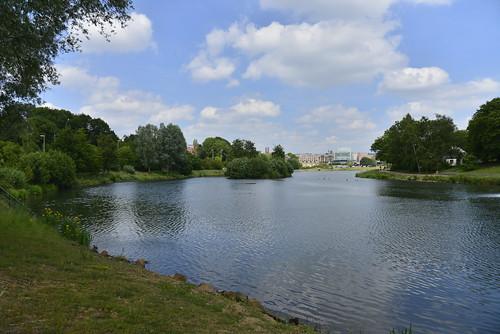 Le lac du parc