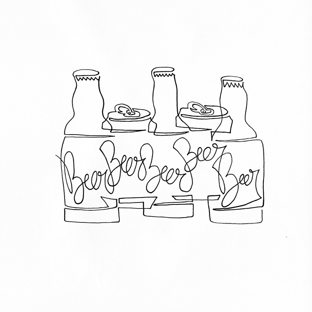The Worlds Newest Photos Of Oneliner And Tattoo Flickr Hive Mind Power Plant One Line Diagram A Single Drawing Gang Beers Cans Bottles Always Roll Together