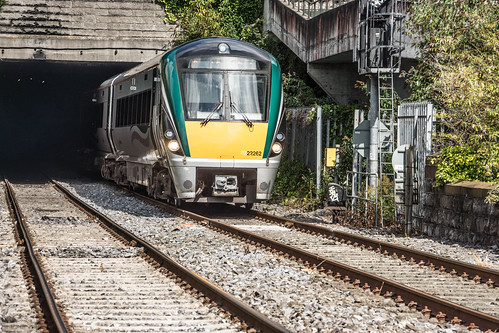 THE MINISTER PLUS PLATFORM 10 AND THE PHOENIX PARK RAILWAY TUNNEL [NOT FORGETTING IRISH RAIL STAFF] REF-107143