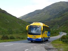 Glasgow Citybus YN15EKE 150630 Glen Shiel (maljoe) Tags: citylink scottishcitylink westcoastmotors glasgowcitybus