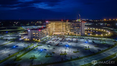 Aerial - Owensboro Health Regional Hospital (AP Imagery) Tags: hospital ohrh omhs owensboro aerial architecture dji medicalhealthsystem night p3p phantom regionalhealth kentucky usa
