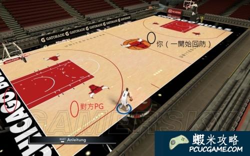 NBA 2K15 背後抄截