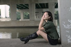 Kelli 03 (tieulinhclc - Thanks for 2 million + views) Tags: portrait woman sexy female asian illinois model modeling skirt il rockford asianwoman asianwomen modelmayhem dazzlingshots dlphotography dandlphotography