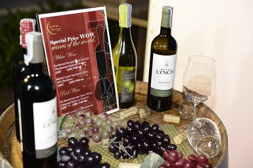 Wine Experience at Luna Lanai Restaurant