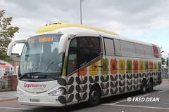 Bus Eireann SE26 (151D4710). (Fred Dean Jnr) Tags: expressway scania buseireann irizar i6 se26 orlakiely alloverad id2015 merchantsquaycork buseireannroute51 august2015 irishdesign2015 151d4710