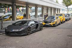Mansory Combo (Nico K. Photography) Tags: yellow geneva mercedesbenz and lamborghini rare amg carbonado supercars roadster mansory s63 1of3 apertos w222 aventador gronos lp12504 nicokphotography