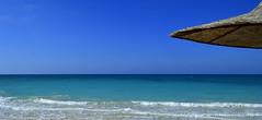 Keep your eyes on the horizon... (Dr Awadalla) Tags: sea nature landscape outdoor horizon nikond3200 shadesofblue