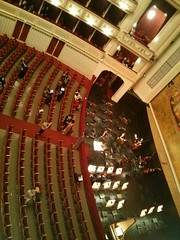 La Cenerentola Orchestra Pit (bywayofpdx) Tags: vienna music austria opera orchestra operahouse orchestrapit viennastateopera