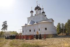 086. Patron Saints Day at the Cathedral of Svyatogorsk / Престольный праздник в соборе Святогорска