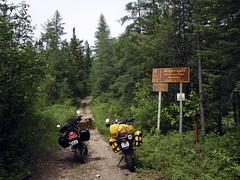 The Southern Gate (chuck.horne) Tags: madawaska algonquinpark klr dr650