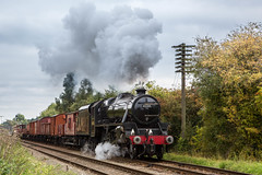 Freight (alanrharris53) Tags: october rail trains steam gala preservation quorn 2015 gcr grea 45305
