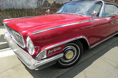 Vintage Red Chrysler New Yorker 3rd Street San Francisco 150710-142851 C4e (Wambeke & Wambeke Photography, Art, & Textiles) Tags: red redcar vintagechrysler chryslernewyorker carhood charliewambekephotography postcardshot wambekewambeke canonpowershotsx50photograph classiccarfromthepast
