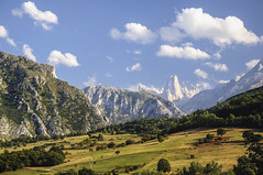 Urriellu (A.González) Tags: españa mountain field landscape countryside spain country asturias paisaje mount campo fields monte montaña naranjo urriellu bulnes naranjodebulnes
