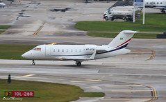 Corporate Challenger 605 PP-SCB (birrlad) Tags: usa private corporate airport florida taxi jet international hollywood fortlauderdale passenger departure takeoff runway challenger departing 605 bombardier fll taxiway bizjet cl60 cl6002b16 ppscb