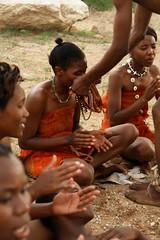 Haillom Medicine Dance 2 - Outjo, Namibia, Africa