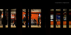Subway - New York (G.hostbuster (Gigi)) Tags: people ny subway ghostbuster geometries 49street gigi49