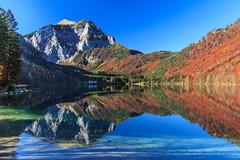 Vorderer Langbathsee (Fotos4RR) Tags: autumn lake austria see österreich herbst autumncolours autumncolors oberösterreich salzkammergut upperaustria herbstfarben langbathsee vordererlangbathsee flickrbronzetrophygroup