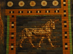 Ishtar Gate aurochs (Sparky the Neon Cat) Tags: europe germany deutschland berlin mitte museum island museumsinsel pergamon ishtar gate aurochs babylon