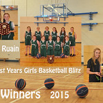 1st Year Girls Basketball 2015