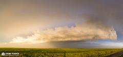 Storm at sunset (Stefano Piasentin) Tags: kansas storm sunset sky clouds afterthestorm stormchasing thunderstorm landscapes