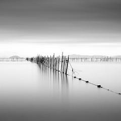 * fishing poles * (^soulfly) Tags: longexposure japan structure poles fishingpoles biwalake fishingnets bwfilter ef2470f28l lakebiwako nd106 canon5dm2