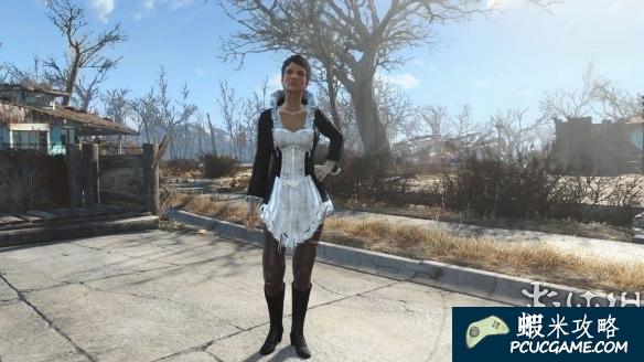 異塵餘生4 羽毛洋裝替換為女僕裝MOD