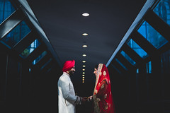 Binny & Uttam (micahprofferphotography) Tags: wedding light india love colors beautiful smile lines composition tampa couple downtown day photographer dress natural florida vibrant indian hard smiles hilton happiness suit session moment leading micah clearwater decisive vibrancy proffer
