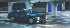 ASCOT///GREEN (BkS.) Tags: green prime garage ascot bmw drifting drift multistory e34 5er canon50mm bksmedia