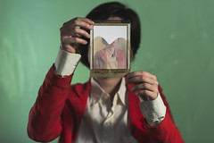 (leo.eloy) Tags: verde cores polaroid retrato vermelho fabu julianar