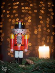 Christmassy Still Life II - The Nutcracker (judithrouge) Tags: christmas weihnachten candle bokeh kerze nutcracker helios deko weihnachtlich nussknacker swirrly christamssy