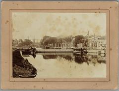 Bierkade ca1900 (Regionaal Archief Alkmaar Commons) Tags: alkmaar vlotbrug