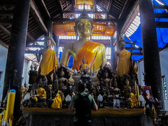 "Luang Prabang: le temple Vat Visoun <a style=""margin-left:10px; font-size:0.8em;"" href=""http://www.flickr.com/photos/127723101@N04/23865154525/"" target=""_blank"">@flickr</a>"