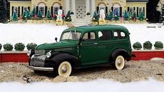 1946 Chevrolet Suburban Carryall Half-Ton Truck (JCarnutz) Tags: christmas chevrolet suburban graceland 1946 diecast franklinmint carryall 124scale