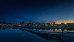 ...sunset in Portsmouth... (jamesmerecki) Tags: portsmouth nh sunset portsmouthnh newhampshire sundown sunsetting colors waterfront southend dock bluehour evening cityscape seaside landscape water sky portsmouthnhsunset