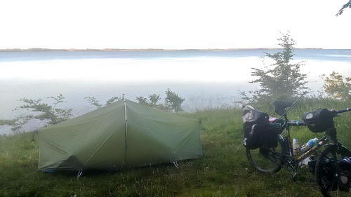 Camping on the Flensborg fjord