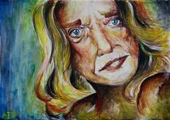 Venus (Alex Akis) Tags: venus portrait pop art painting