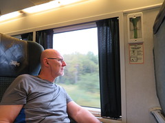 2016-091813 (bubbahop) Tags: 2016 canadatrip halifax novascotia canada via trainstation rail train bubbahop shaved bald head goatee