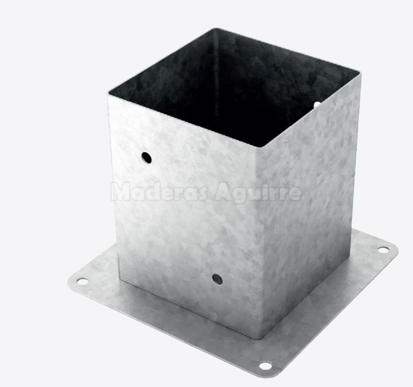 Soporte pilar cuadrado 161x161