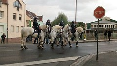 LA POLICE MONTEE (marsupilami92) Tags: frankreich france hautsdefrance somme 80 amiens goodyear syndicat cgt solidaires soutien manifestation justice appel police cheval