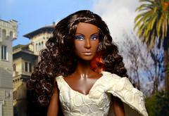Nichelle in Rome (Nadine Gomes) Tags: barbie dolls world france doll 2012 top model muse nikki nichelle hair wear 2007
