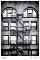 Escape (Thomas Gehrke) Tags: urban fireescape stairs windows brick milwaukee
