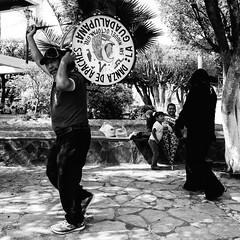Apaches (Hctor Muoz Photo) Tags: apache dance dancers danzantes danza tambor drum musician bombo guanajuato sanmigueloctopan san miguel bn bw st michael arcangel archangel musico street streetphoto calle fuji fujifilm xpro1