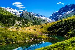 pause for reflection (LiterallyPhotography) Tags: reflektion gletscher glazial see bergsee lötschental fafleralp lötschenlücke schweiz wallis