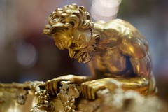 V&A 2 29oct16 (richardbw9) Tags: london uk england va kc rbkc victoriaalbert museum southkensington southken cromwellroad metalwork metalware sculpture tongue interior bowl goblet grapes thirsty hipster beard