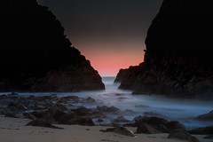 Long exposure during blue hour at Pfeiffer Beach, Big Sur (adamkmyers) Tags: bigsur pfeifferbeach sunset bluehour longexposure