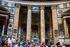 Rome - Pantheon Statue Niches Igne Natura Renovatur Integra (Le Monde1) Tags: italy rome city eternal lemonde1 nikon d610 vatican capitoline palatine tiber river roma stpeters sevenhills capital romancatholic pantheon statue niches inri ignenaturarenovaturintegra