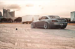 Highway S2k Sunset Bathing (Incognito Media) Tags: honda s2k s2000 jdm import japan widebody workwheels workwheelsjapan workmeister toyotires toyo r888 incognitomedia stancenation