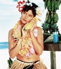 .   , 1987  (bigbucks.com.ua) Tags: blssicomprojectid4781594 blssicompersonid4506224 1980sportraits 1980smovies 1988movies flowerinhair fruit grassskirt hawaiianlei lowellcarey movies portrait telephone